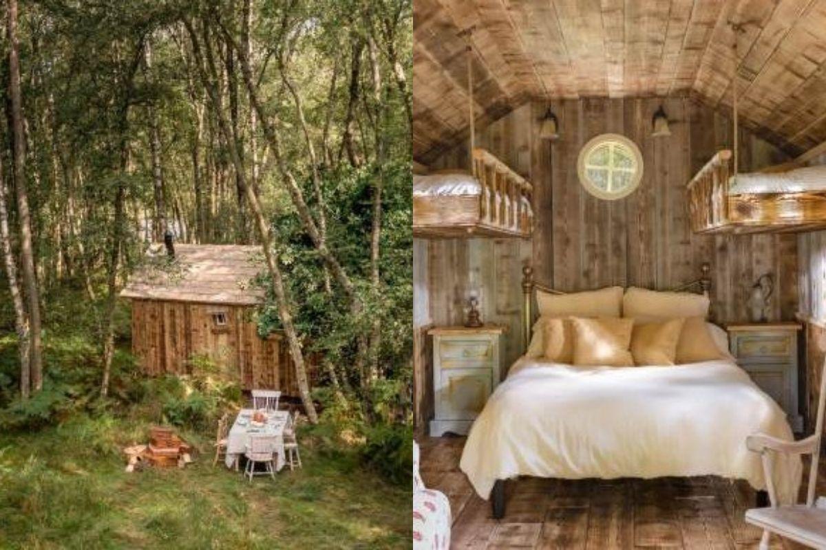 Apenas residentes do Reino Unido poderão alugar a cabana