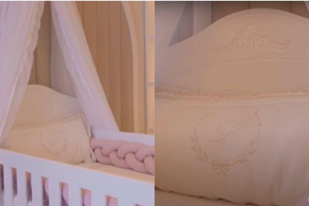 O quarto da pequena Liz foi avaliado em mais de 20 mil reais