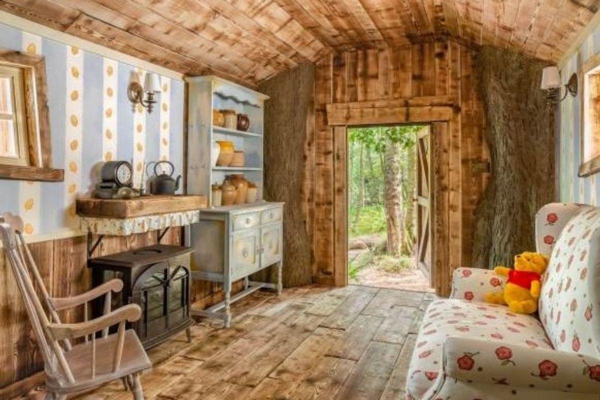 A cabana ficará disponível nos dias 24 e 25 de Setembro