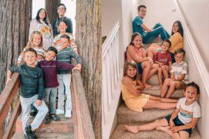 Sete crianças adotadas pelo casal Willis