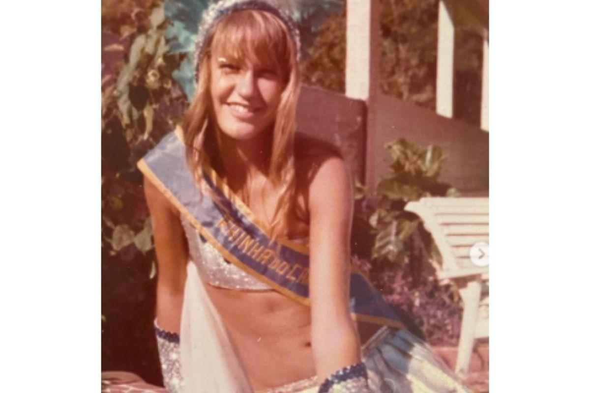 Xuxa, aos 13 anos de idade