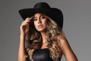 Biah Rodrigues decidiu fazer um ensaio de gestante inspirado em cowboys