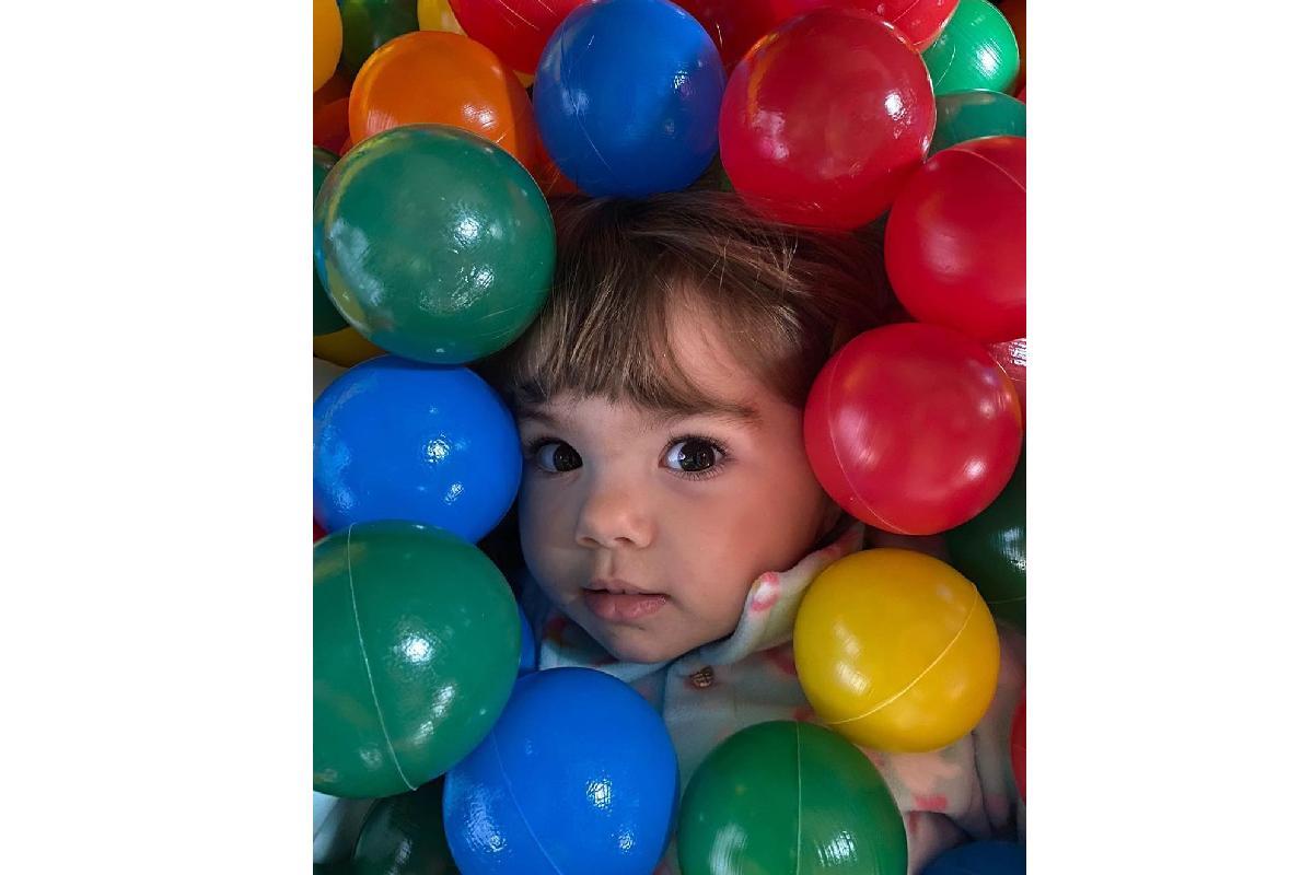Clara Maria tem 1 ano de idade