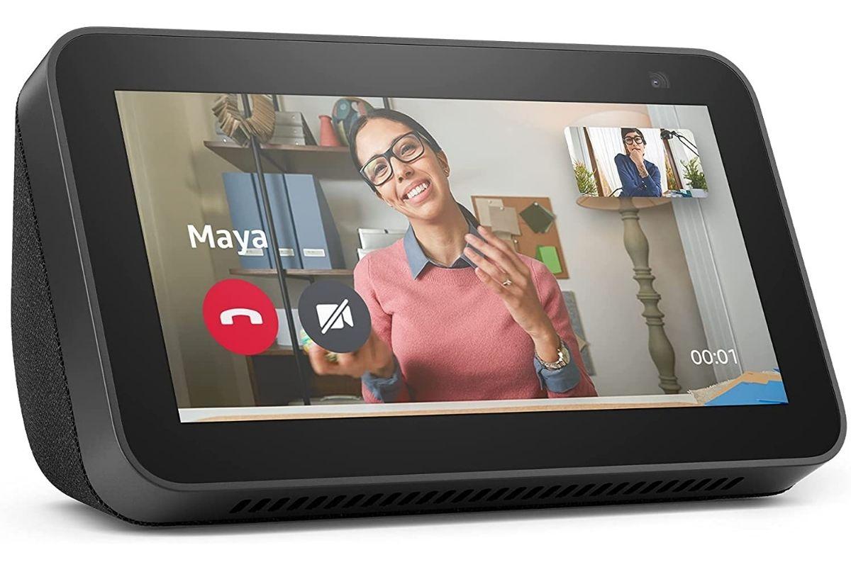 """Novo Echo Show 5 (2ª Geração, versão 2021): Smart Display de 5"""" com Alexa e câmera de 2 MP"""