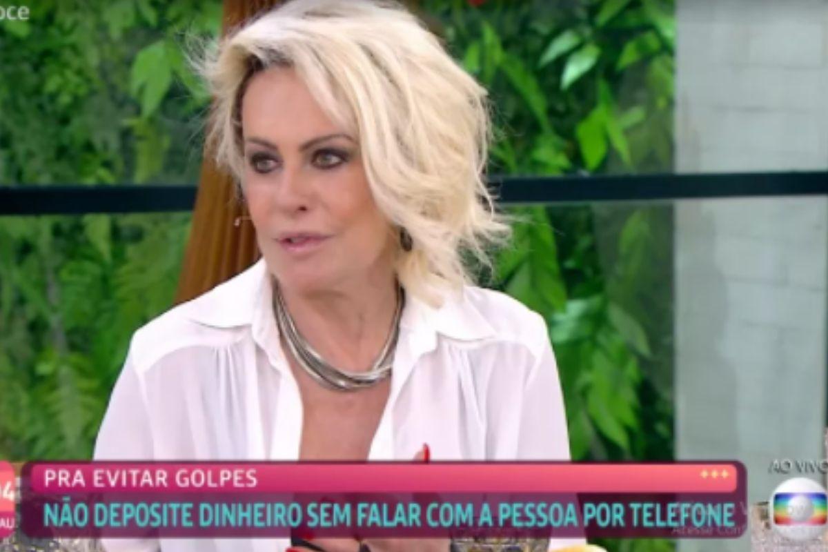 A apresentadora revela que pessoas já se passaram pelos filhos para aplicar golpe contra ela