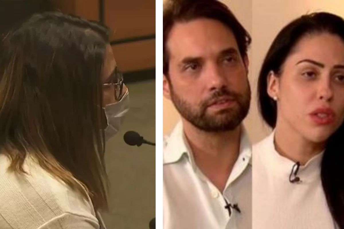 Thayná foi indiciada por falso testemunho