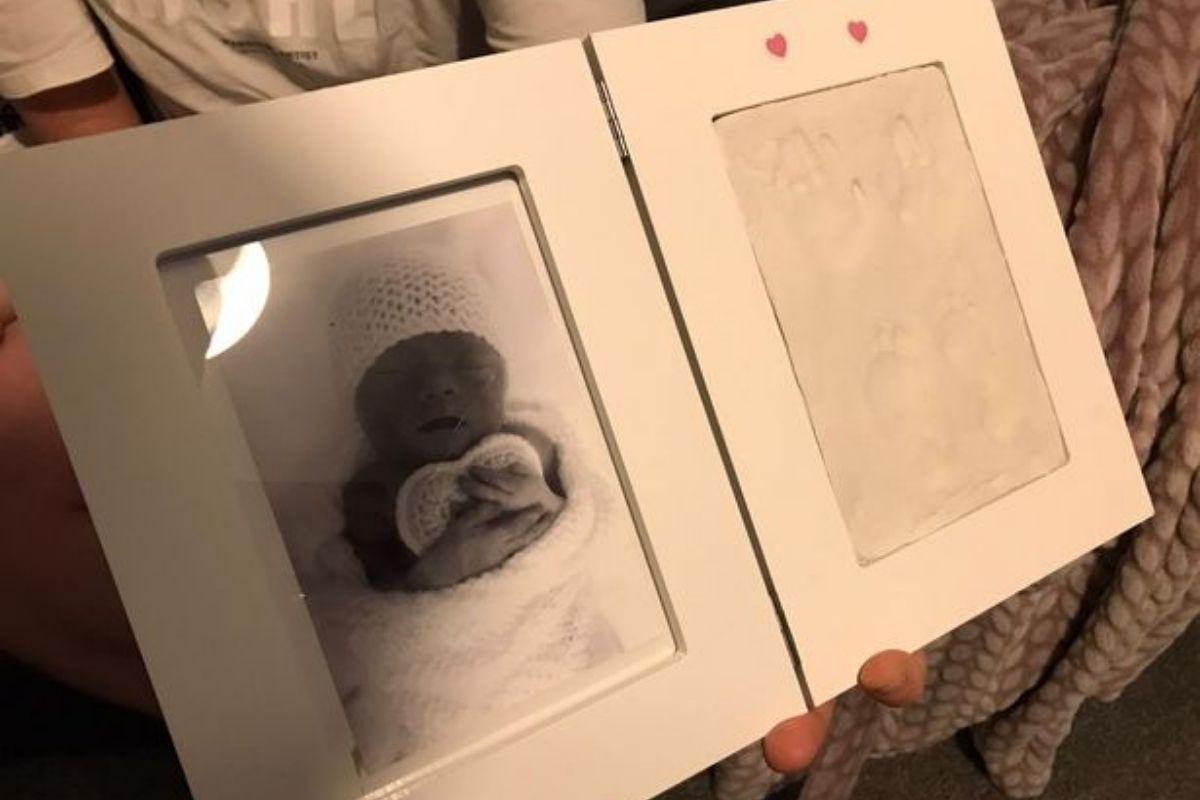Addison nasceu com 1,5 kg mas morreu 4 horas depois do parto