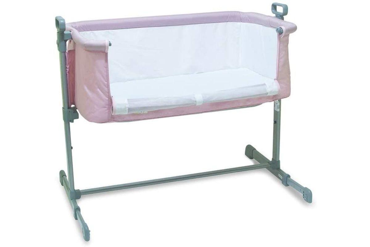Berço lateral acoplável na cama side by side Co Slepeer - Baby Style
