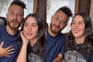 O casal se pronunciou no Instagram