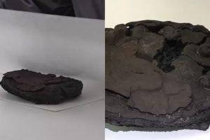 O bolo estava conservado!