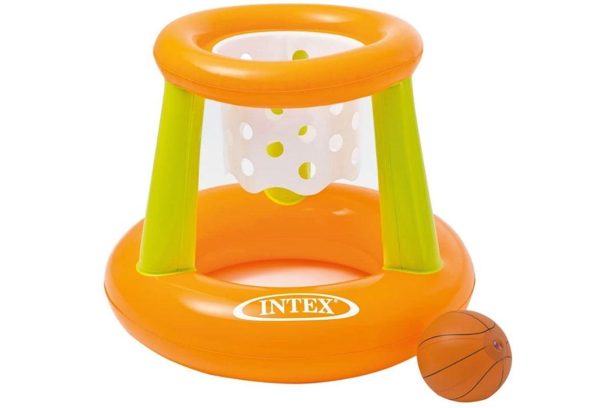 Brinquedos para usar na água: Cesta de Basquete Flutuante, Intex (Foto: Divulgação)