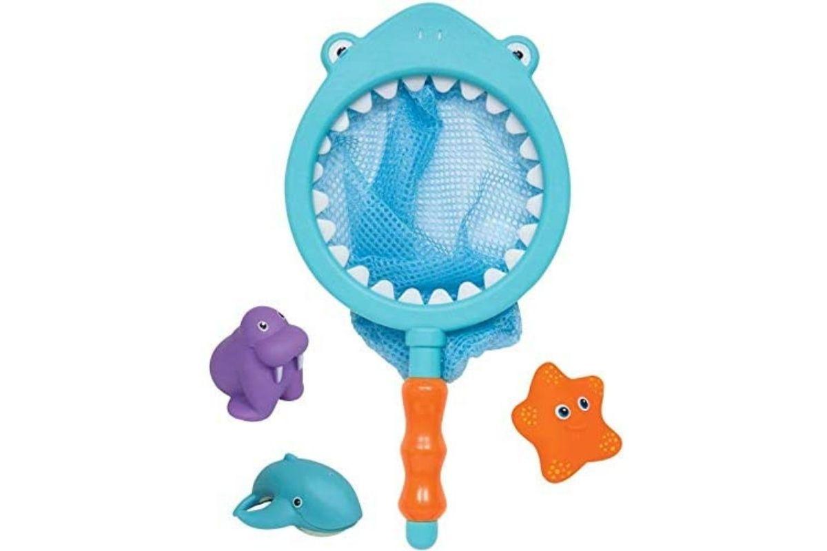 Brinquedos para usar na água: Pescaria De Banho - Tubarão, Buba (Foto: Divulgação)