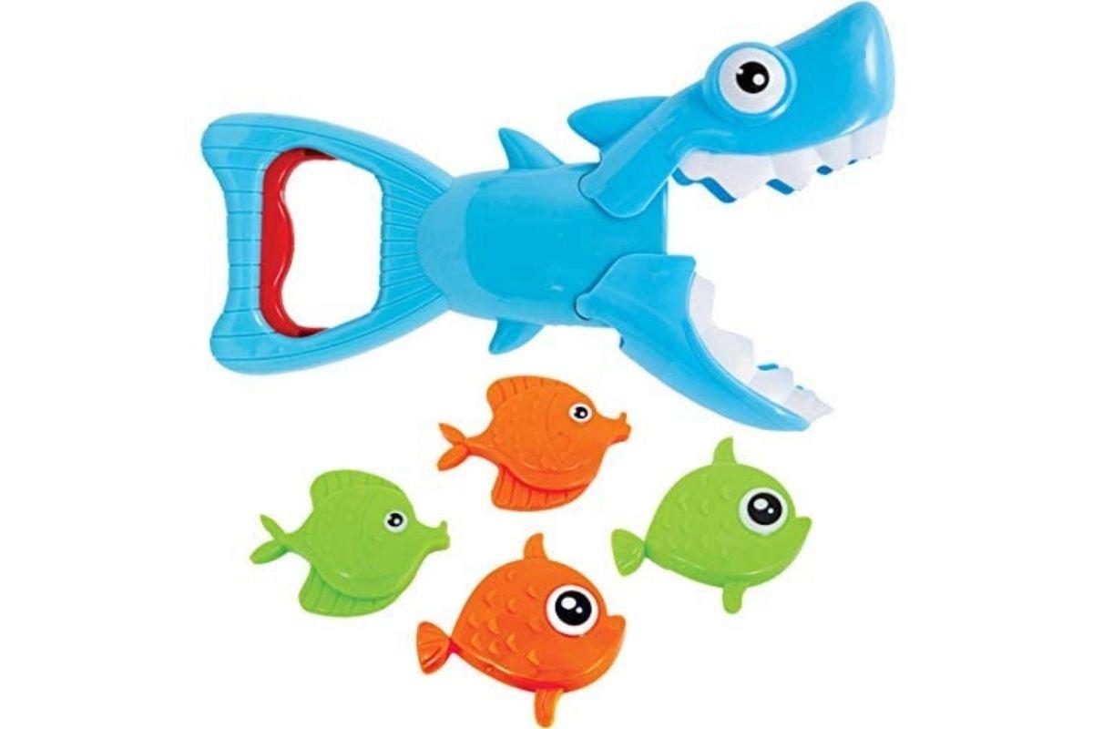 Brinquedos para usar na água: Tubarão Pega Peixinhos, Buba (Foto: Divulgação)