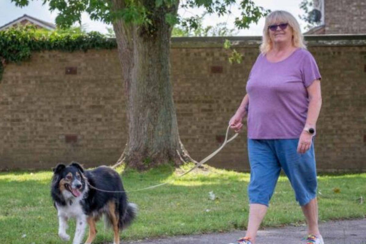 Dave vive como um cachorro normal, apesar de sua deficiência visual