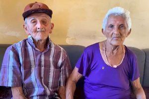Casal de idosos ganham vaquinha online após serem despejados
