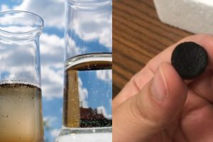 O hidrogel que purifica a água