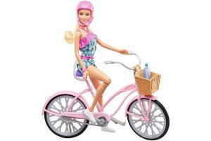 Presente de Dia das Crianças: Barbie Boneca e Bicicleta