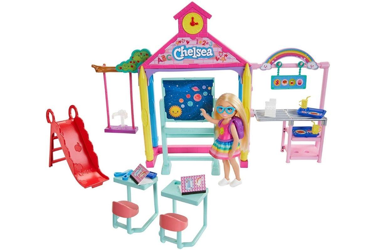 Presente para o Dia das Crianças: Barbie: Diversão na Escola - Club Chelsea - Mattel