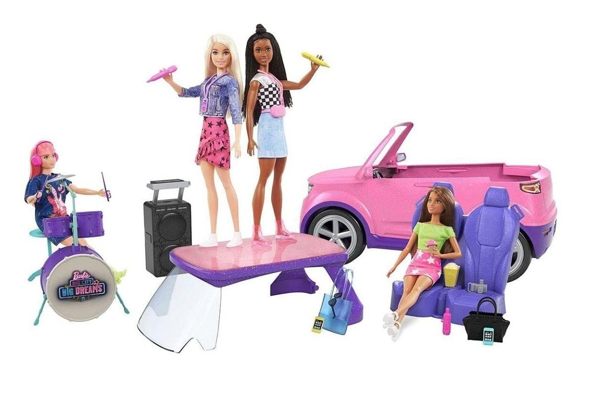 Presente para o Dia das Crianças: Barbie, Carro SUV, Big City Big Dreams - Mattel