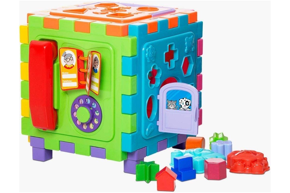 Presente para o Dia das Crianças: Cubo Didático Grande - Mercotoys