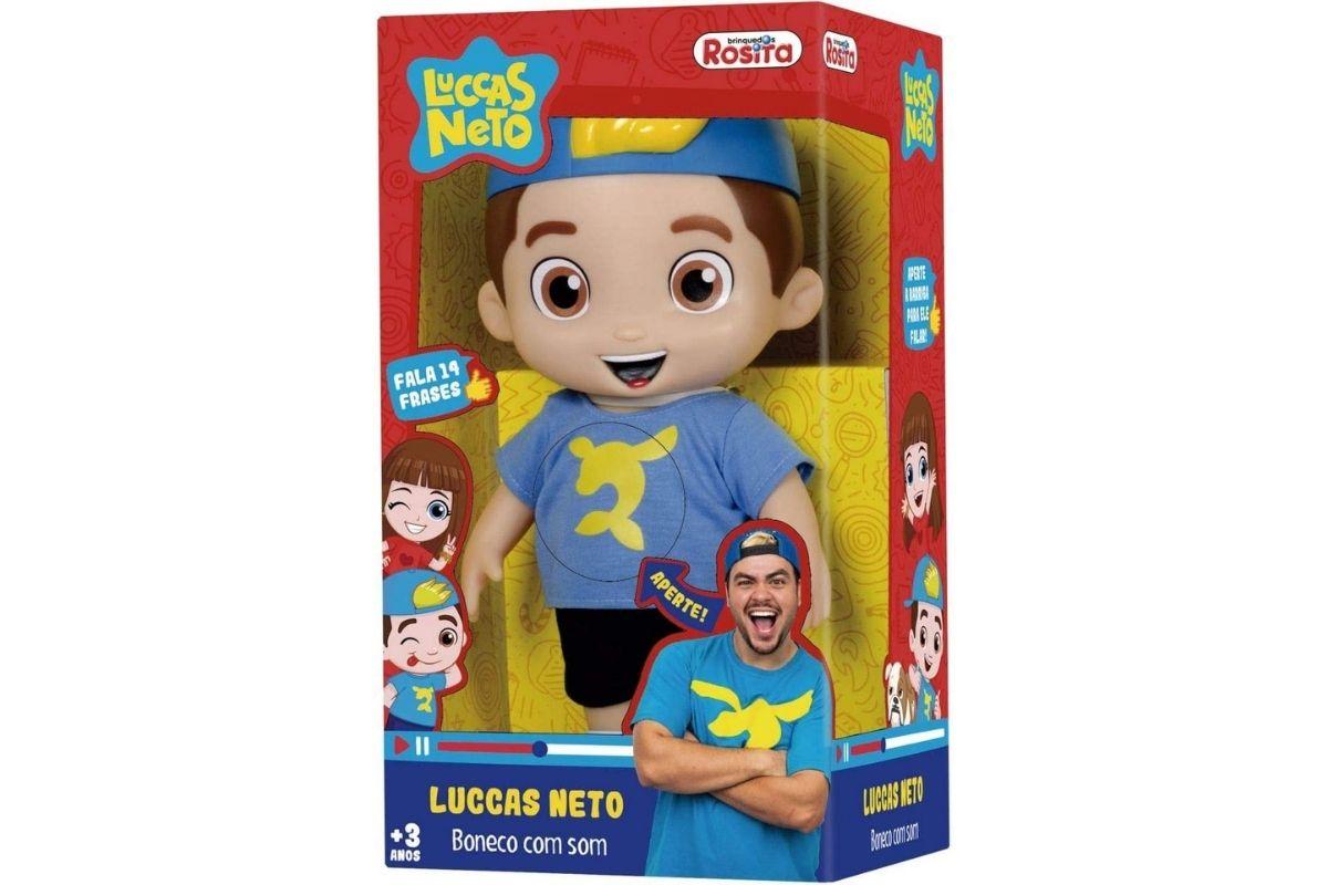 Presente de Dia das Crianças: Boneco Luccas Neto