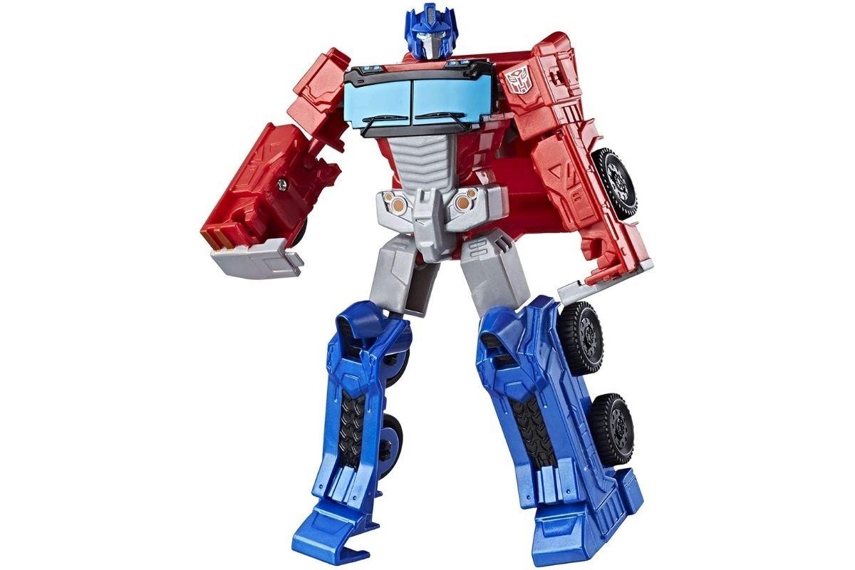 Presente de Dia das Crianças: Figura Transformers Authentics, Autobot Optimus Prime - Converte em 4 etapas, Hasbro