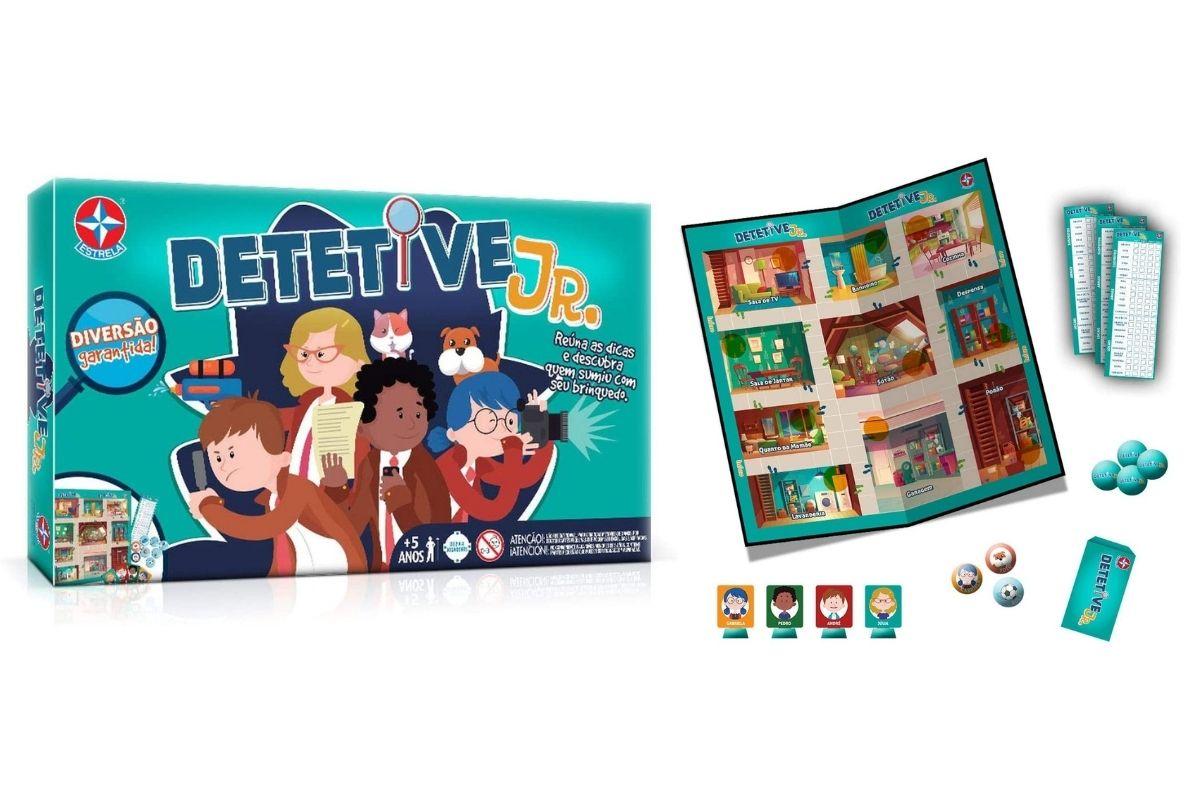 Presente de Dia das Crianças: Jogo Detetive Jr., Estrela