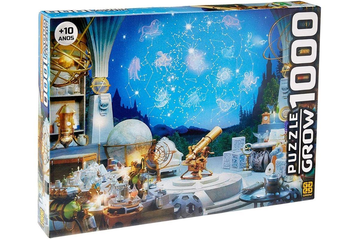 Presente Dia das Crianças: Constelações Puzzle 1000 Peças - Grow