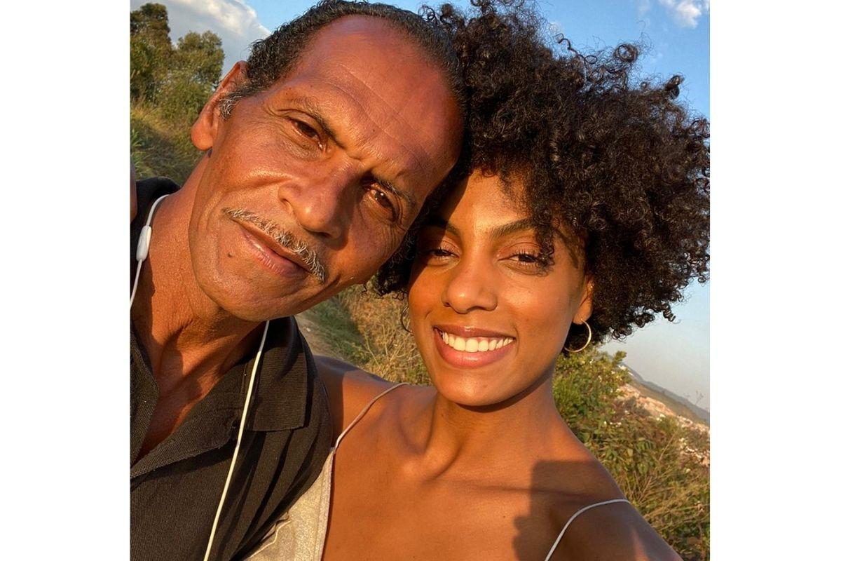 Érika Carodozo falou mais sobre a relação com o pai