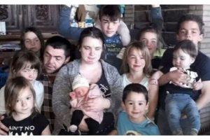 Gweeny e Marino são pais de 11 crianças