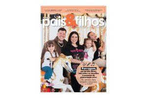 Ferrugem e a família estão na capa da nova edição da revista Pais&Filhos