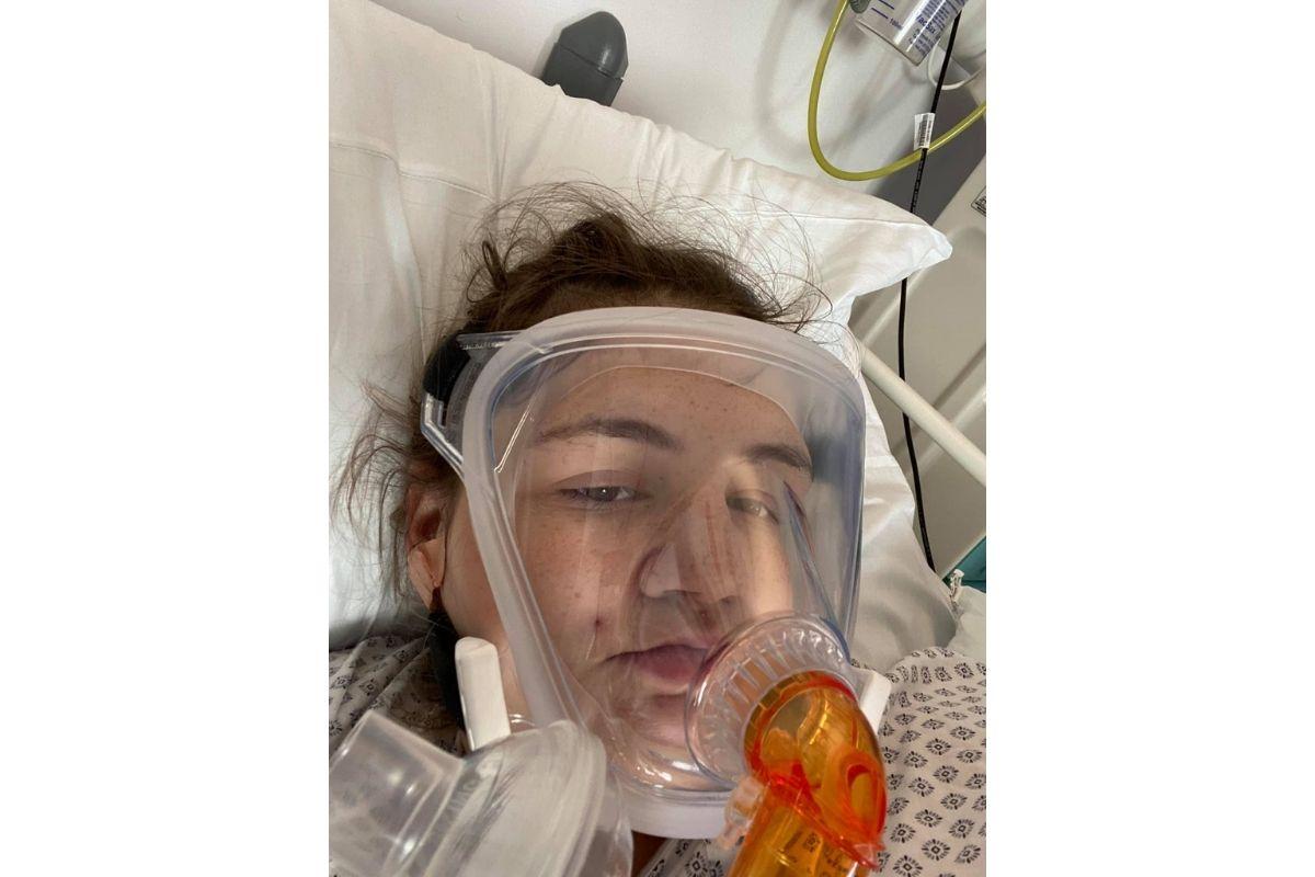 Uma mulher deu à luz durante o coma após pegar covid-19
