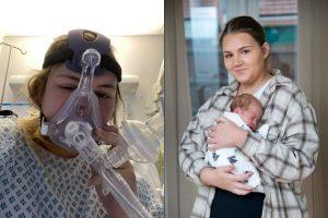 Grávida dá à luz durante coma após ser internada com covid-19