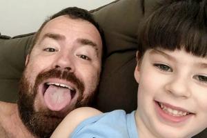 Leniel Borel faz desabafo sobre primeiro Dia das Crianças sem o filho