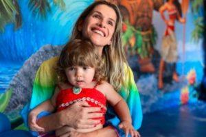 Ingrid Guimarães comemorou os 2 anos de Clara Maria