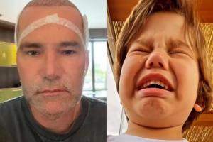 José caiu nas lágrimas ao descobrir o transplante capilar do avô