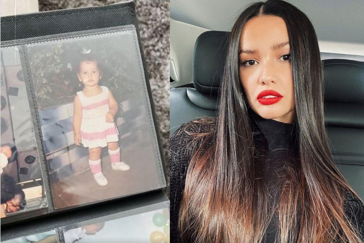 Juliette publicou um vídeo contando sobre algumas lembranças do álbum de fotografia