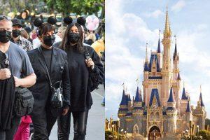 Kylie Jenner curtiu um passeio VIP na Disney