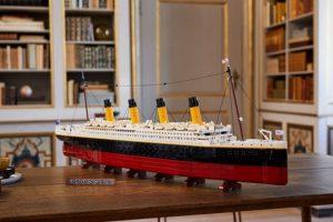 Lego anuncia lançamento de réplica do navio Titanic
