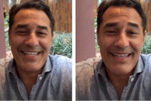 Luciano usou as redes sociais para conversar com seguidores