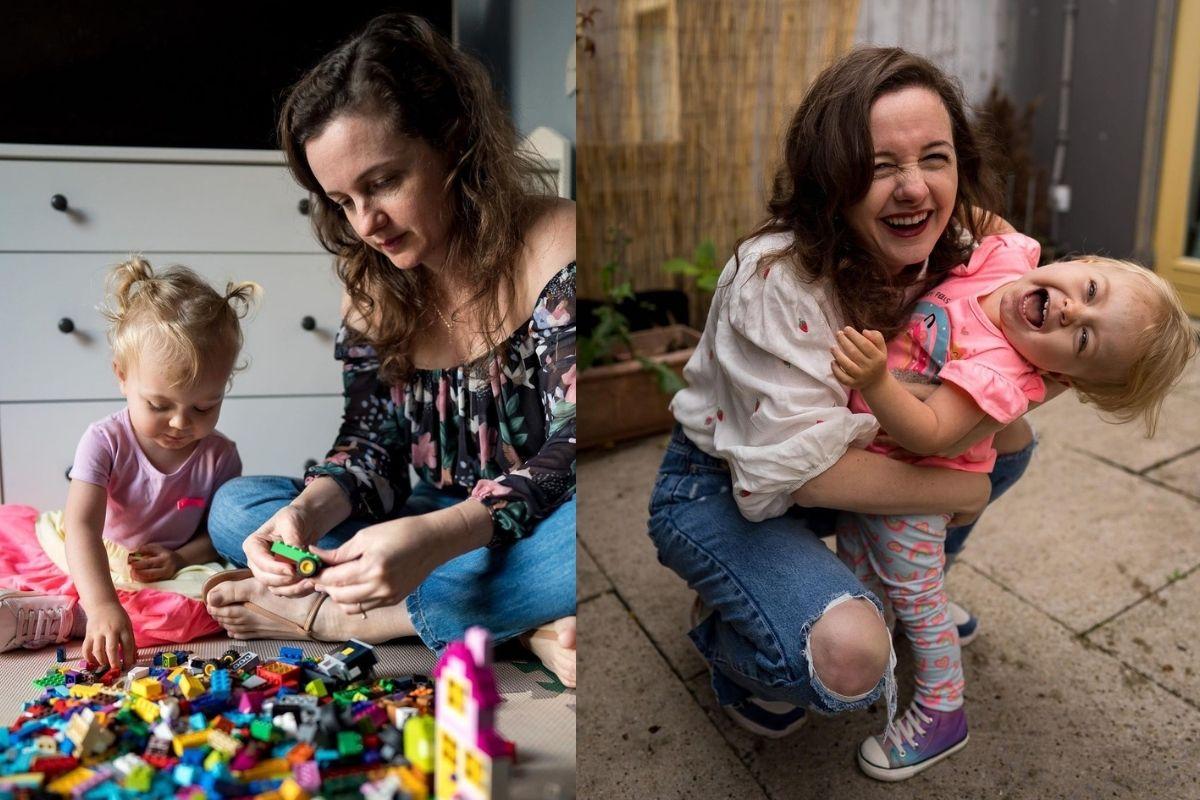 Mãe de Alice fala sobre lembranças da infância que quer deixar para a filha