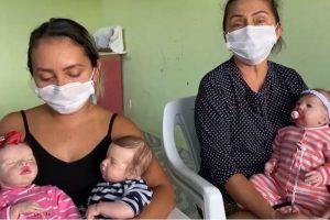 Mãe e filha confeccionam bebê reborn em Roraima
