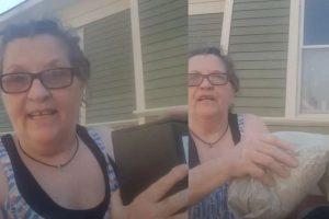 Mulher que sofreu violência doméstica joga cinzas do marido no lixo