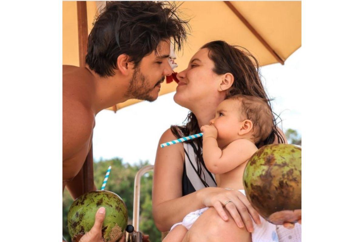 Nathalia Dill parabeniza o marido Pedro Curvello pelo aniversário