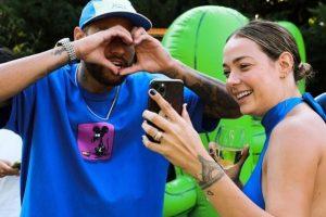 Neymar e Carol Dantas são pais de Davi Lucca