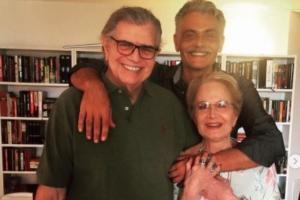 A nora de Tarcísio Meira fez uma homenagem para ele no Instagram