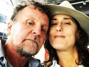 Paola e o ex-marido, Jason Lowe