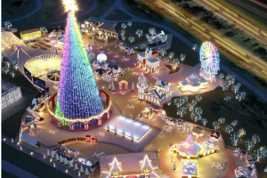 O parque Villa-Lobos irá receber pela primeira vez atrações de Natal