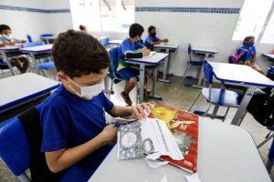 Pesquisa mostra que crianças estão mais interessadas em aulas presenciais