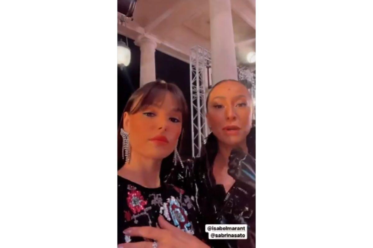 Isis Valverde e Sabrina Sato, Paris Fashion Week